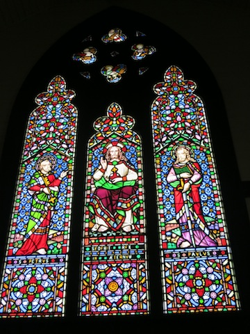 Watrous stained glass windows