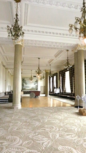 Ballroom at the Balmoral Hotel in Edinburgh