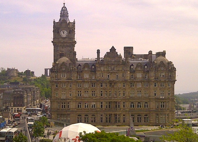 Balmoral Hotel in Edinburgh Scotland
