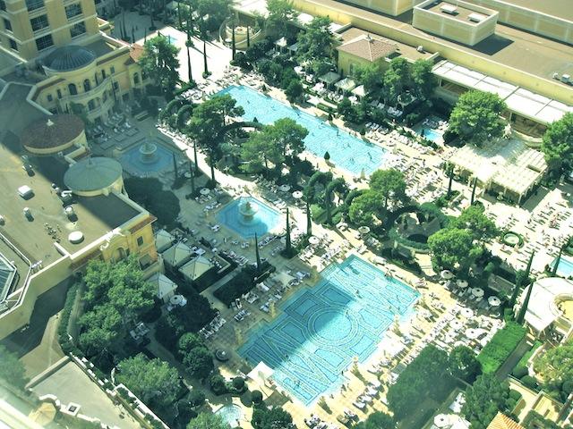 Swimming Bellagio style