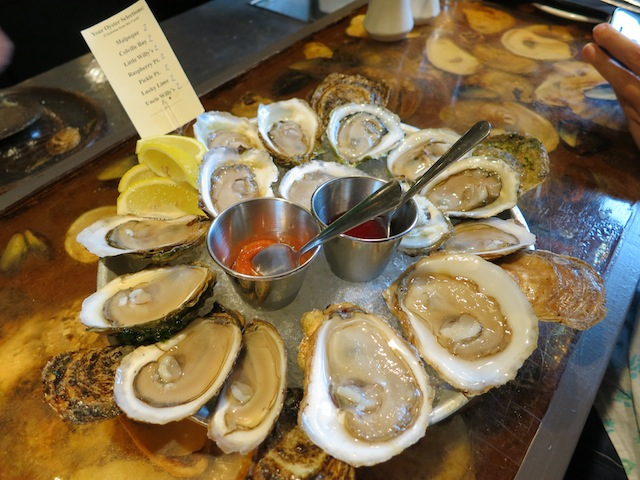 Love affair with oysters in PEI