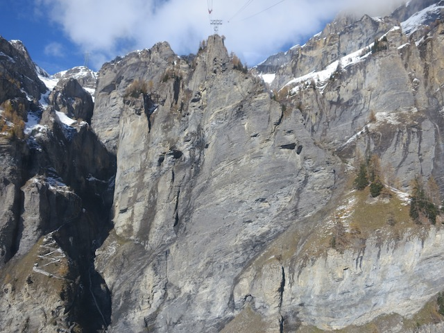 Gemmi Pass, Leukerbad hiking destination Swiss Alps