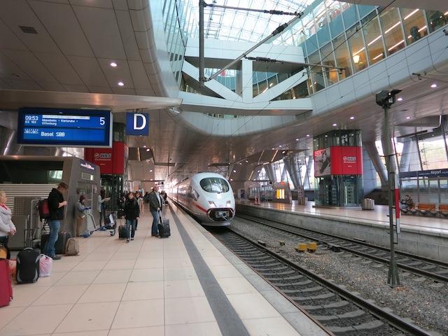 Baden-Baden spa honeymoon, take the train from Frankfurt