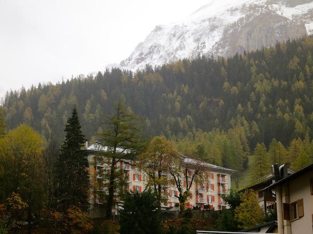 Gemmi Pass, Luxury hotel Les Sources des Alpes Leukerbad Switzerland