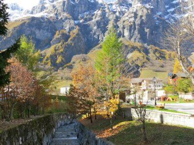 Gemmi Pass, Leukerbad Switzerland alpine view mountains