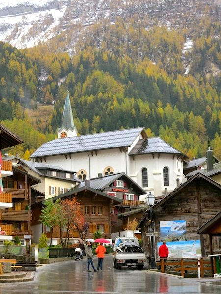 Swiss Alpine Town of Leukerbad Leukerbad spa honeymoon in Switzerland
