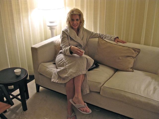 Carol Perehudoff Dolder Grand Spa Swiss spas Zurich