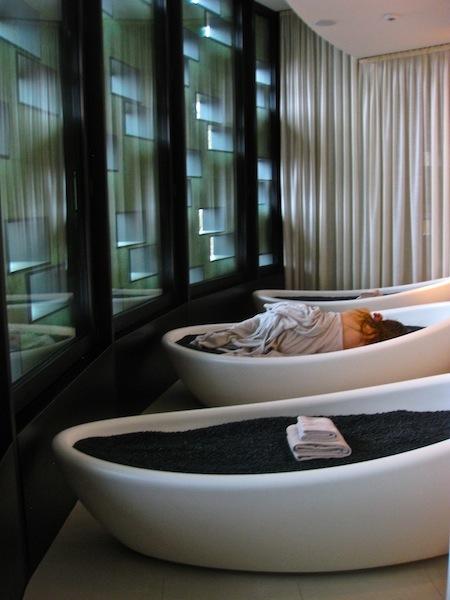 Japanese spa beds Dolder Grand Hotel Swizerland Spa