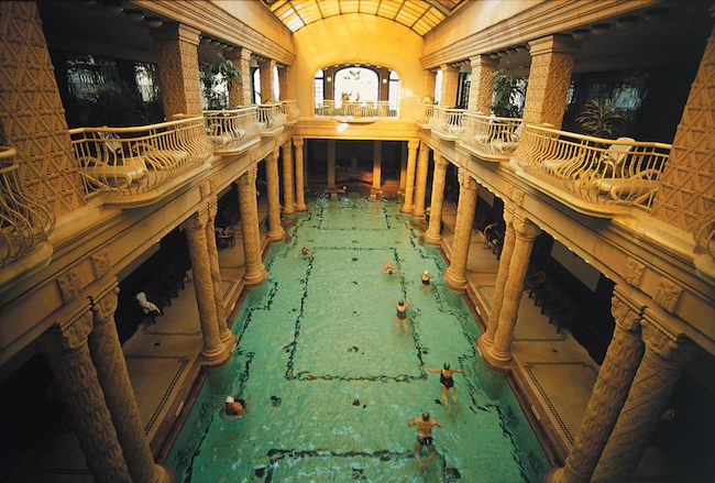 Gellert Baths for Budapest baths article