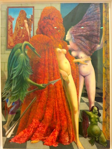 Max Ernst Attirement of the Bride, Venice
