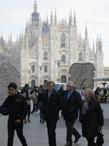 Milan vibrant city