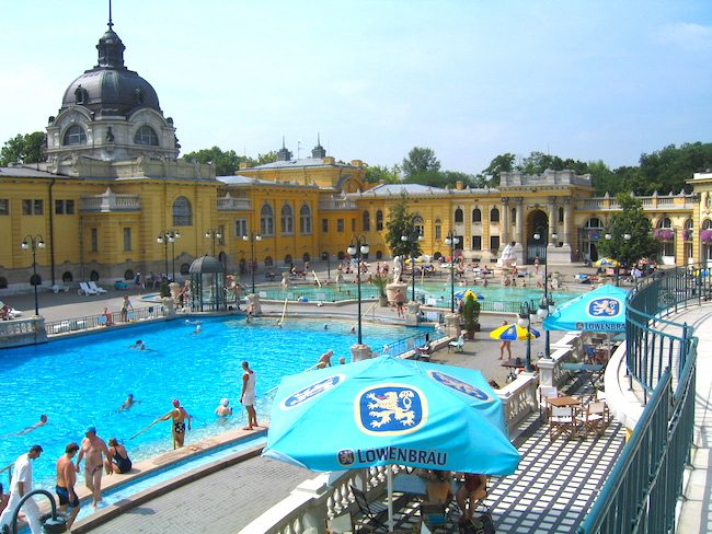 Szechenyi Baths Budapest bath article