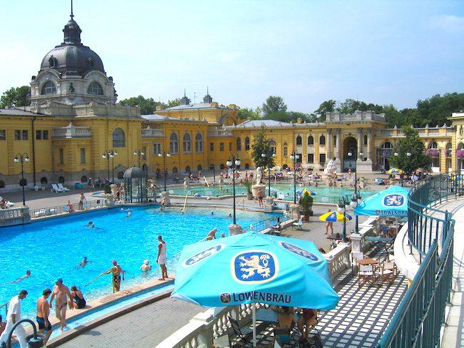 Szechenyi Baths Budapest bath article