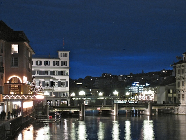 Zurich Switzerland river luxury travel