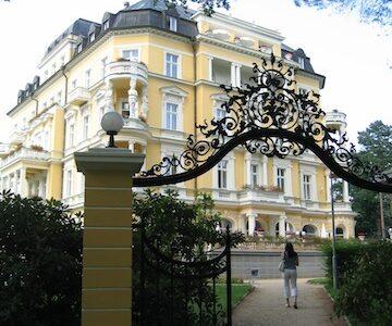 Good hotel in Franzensbad Czech Republic Frantiskovy Lazne