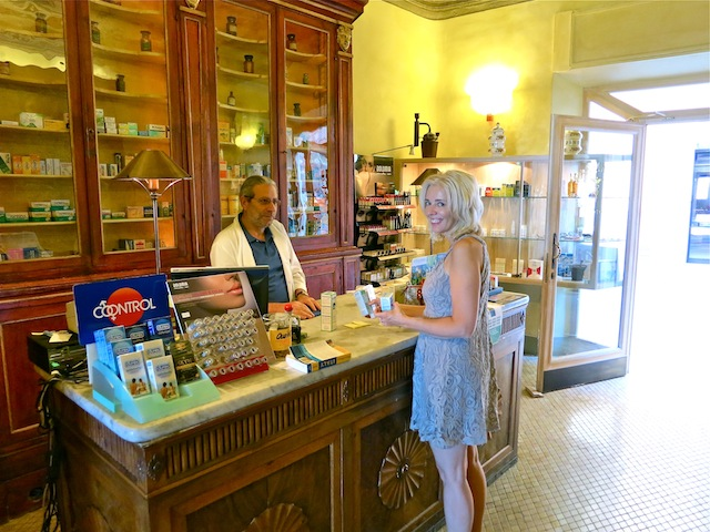 Charming Italian pharmacy in Tuscany