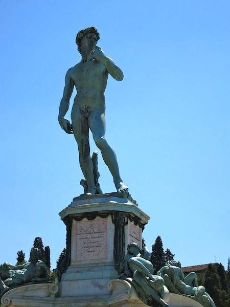 Faux David at Piazzale Michelangelo