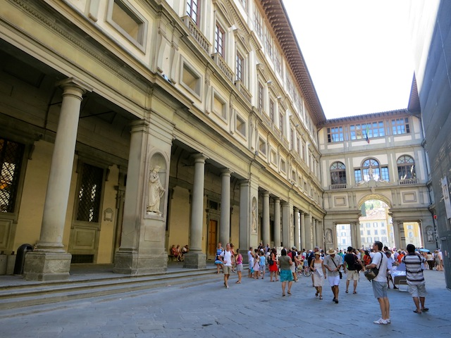 Uffizi Gallery is a top sight in Florence Italy