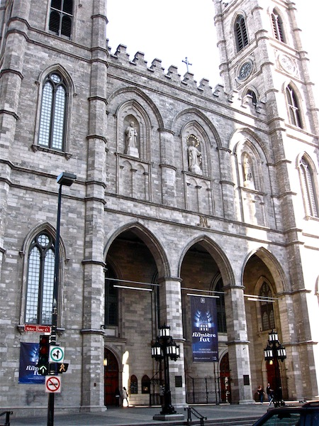 Cathedral Old Montreal Notre-Dame