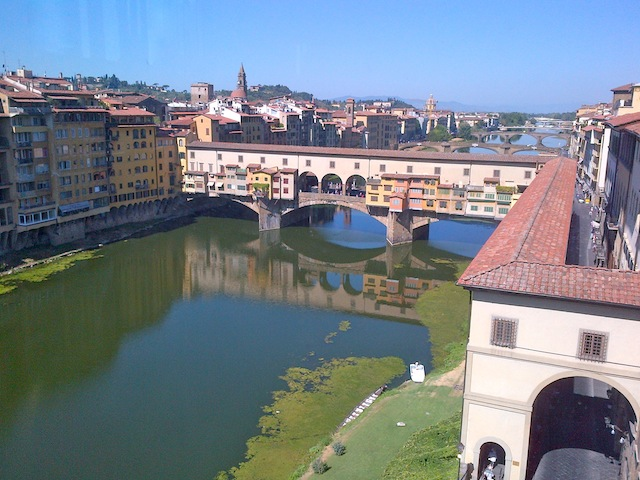 Florence the Ponte Vecchio Bridge