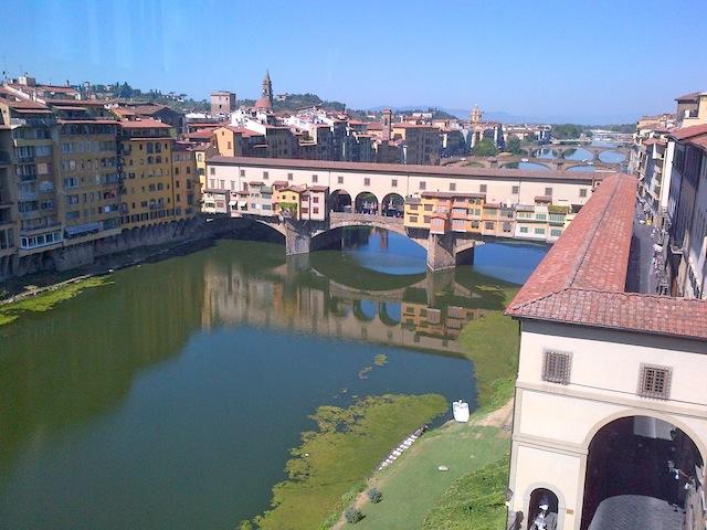 Florence the Ponte Vecchio Bridge