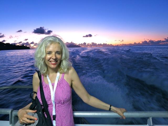 Carnival International de Victoria pre-opening cruise Carol Perehudoff