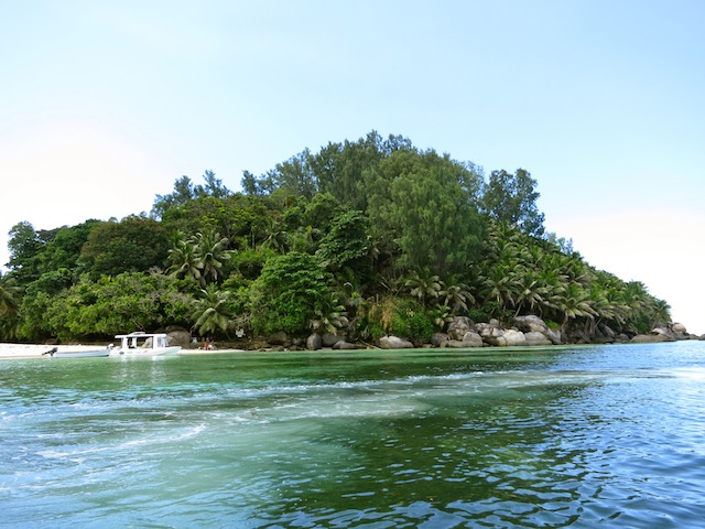 Seychelles islands, Moyenne Island snorkel excursion