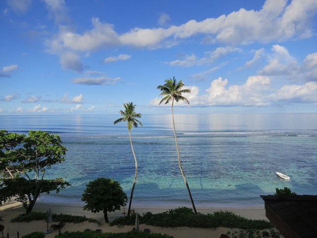 Where exactly are the Seychelles view of beach