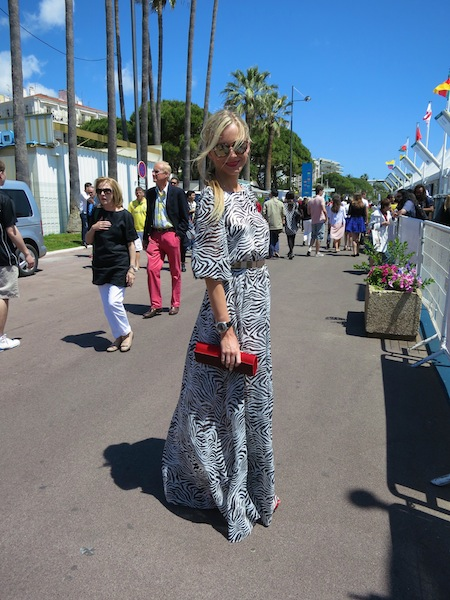 Cannes glamour girl