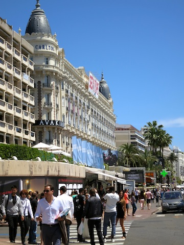 Carlton hotel towers in Cannes Carolina Otero