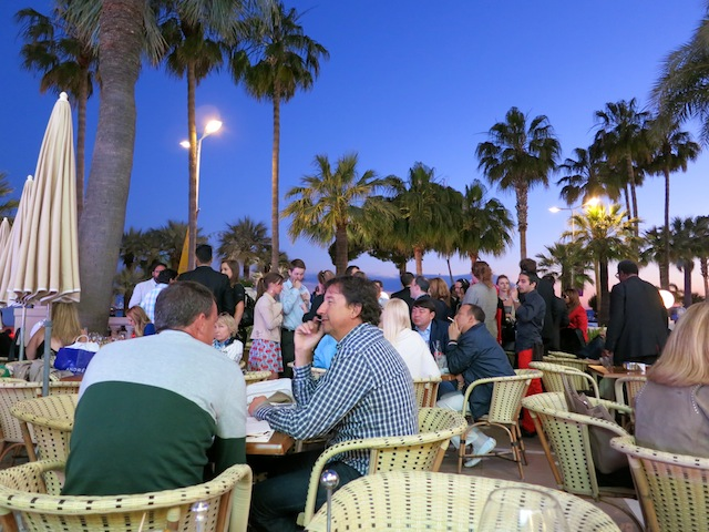 InterContinental Carlton hotel terrace in Cannes