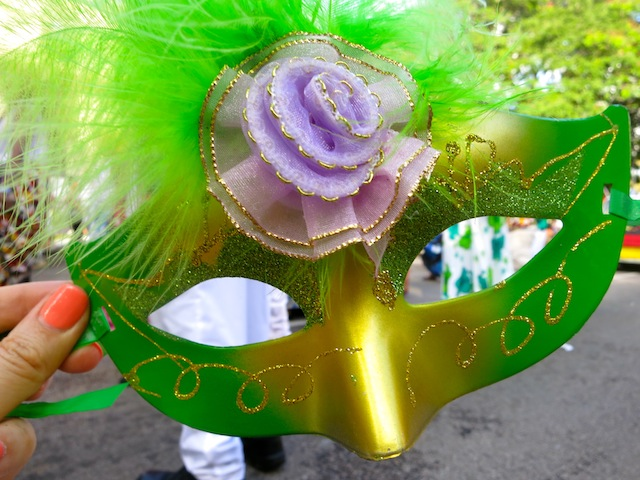 Seychelles Carnival Masks