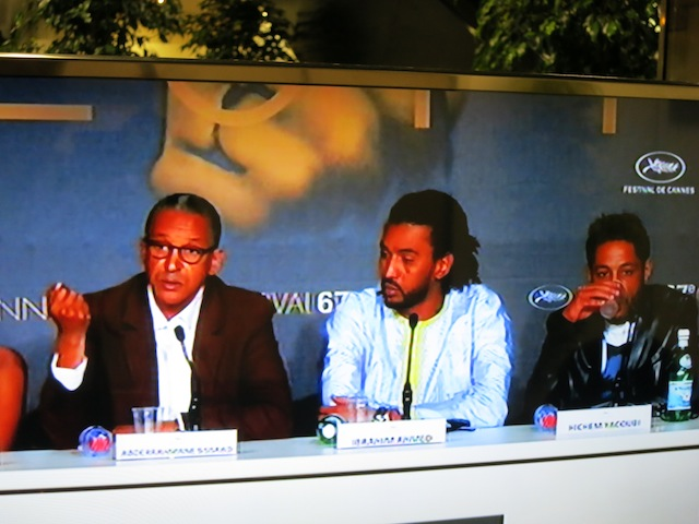 Cast of Timbuktu at Cannes Film Festival