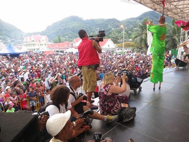 Seychelles Carnival closing ceremonies Victoria
