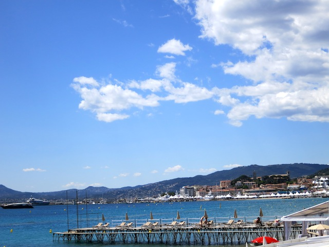 Pretty view of Cannes France