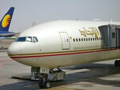 Etihad Airways airplane