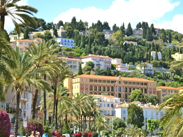 Hills in Menton Cote'Azur