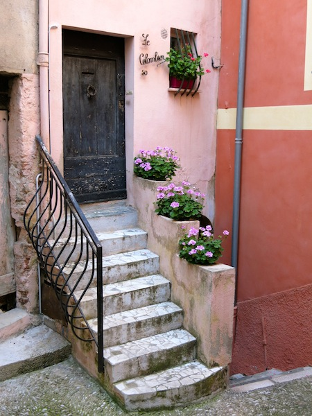 One day in Menton South of France town