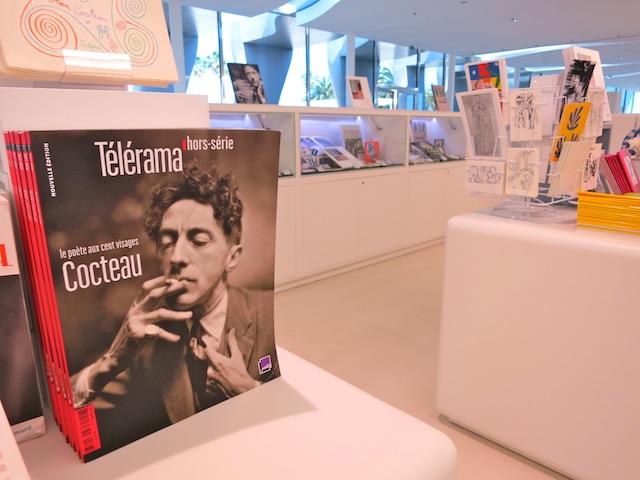 Book about Jean Cocteau in Cocteau Museum Menton