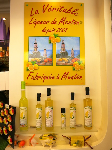 Lemon souvenirs of Menton South of France