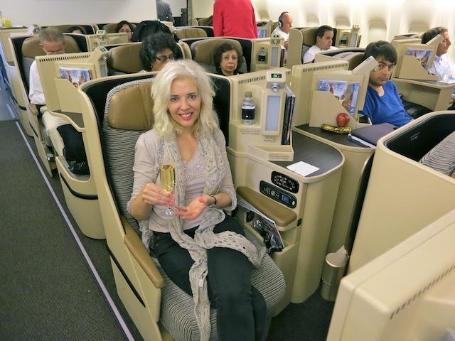 Flying Pearl Business Class on Etihad Abu Dhabi to Toronto