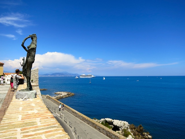 Sculpture in Antibes South of France