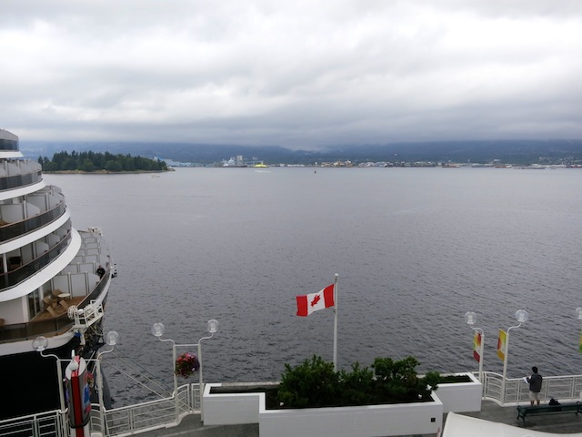 View of Vancouver from Canada Place