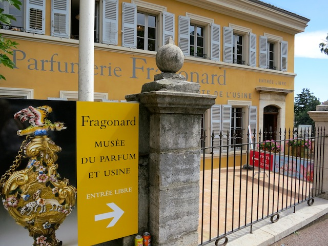 Pragonard Perfume Factory in Grasse France