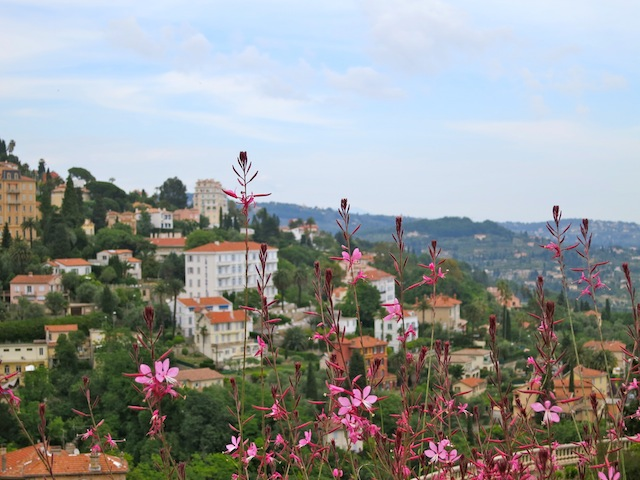 Nice view of Grasse France