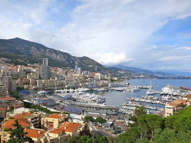 Nice view of Monaco