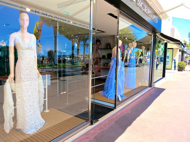 Shopping in Cannes on the Croisette