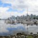 Nice view from Stanley Park in Vancouver