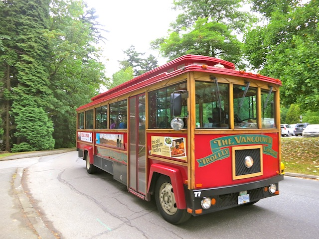 One day in Vancouver on the Vancouver Trolley Company