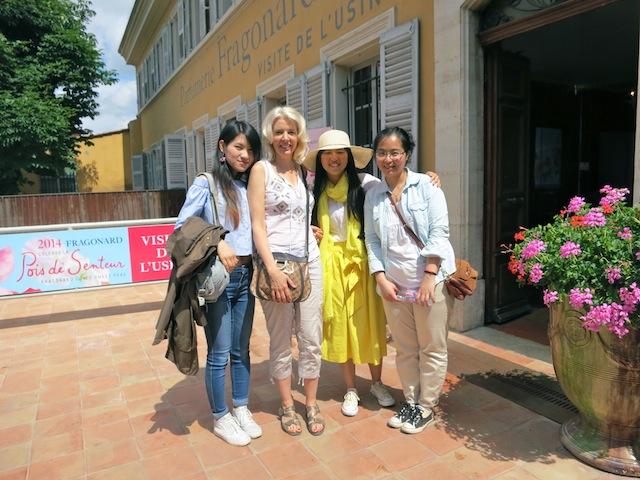 Visiting Grasse France